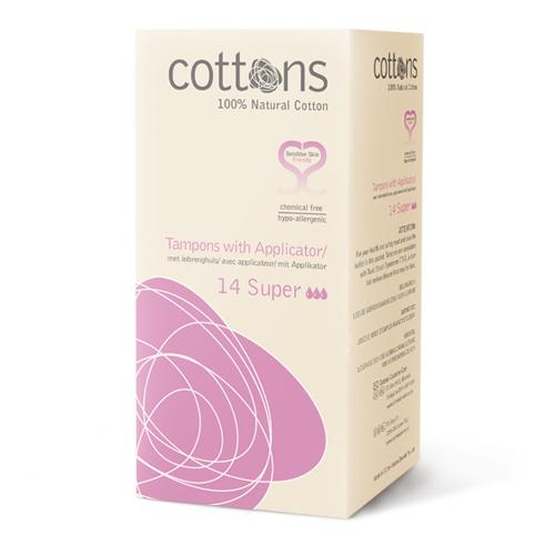 Cottons tampons inbrenghuls super 14 stu