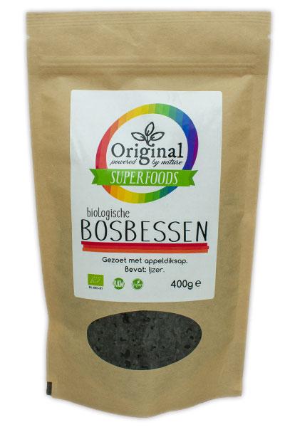 Original Superfoods Biologische Blueberries 400 Gram