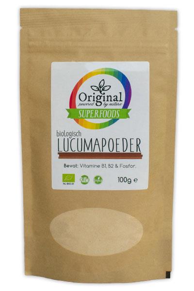 Original Superfoods Biologische Lucumapoeder 100 Gram Aanbieding
