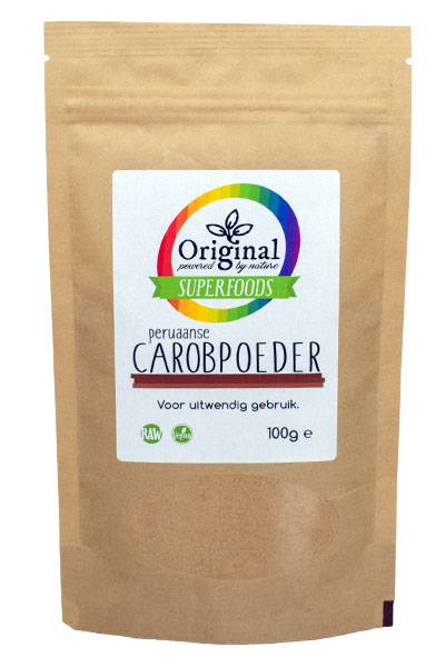 Original Superfoods Peruvian Carob Powder 100 gram