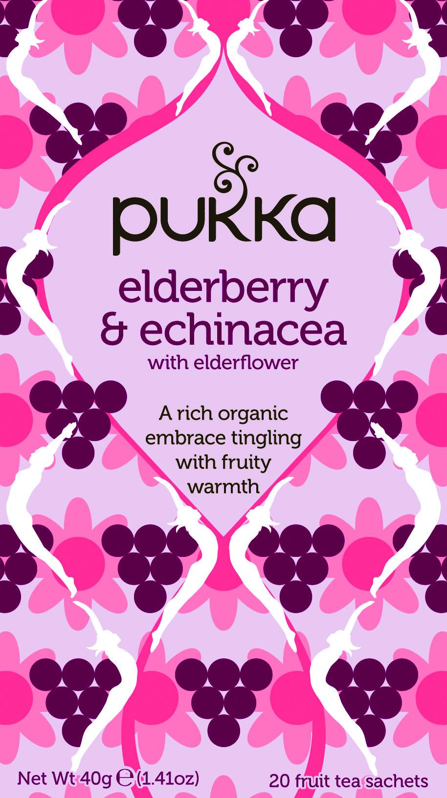 Pukka Biologische Elderberry & Echinacea Thee 20 Zakjes