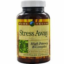 Pure Vegan Stress Away 100 V Caps