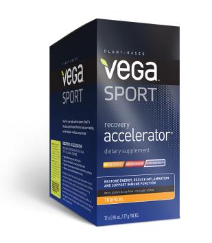 Vega Sport Recovery Accelerator Tropical Sachet 12 x 27 Gram