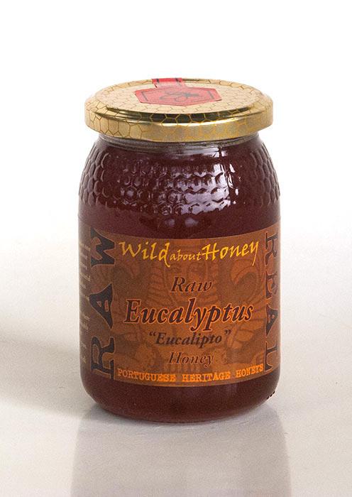Wild About Honey Rauwe Eucalyptus Honing 500 g