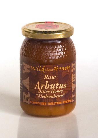 Wild About Honey Rauwe Arbutus Bitter Honing 500 g