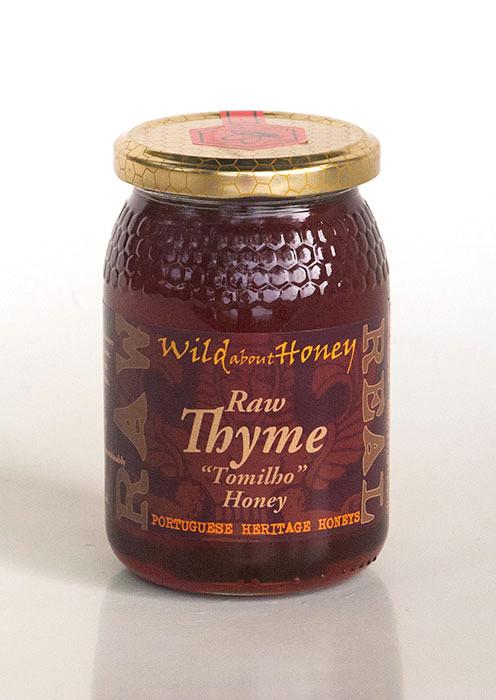 Wild About Honey Rauwe Tijm Honing 500 g