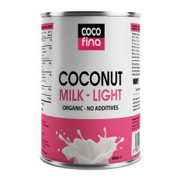 Cocofina Organic Coconut Milk Light 400 ml Tin