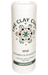 The Clay Cure SYLK for Babies & Delicate Skin Body Powder 75 Gram