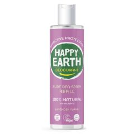 Happy Earth Deodorant Spray Lavender Ylang 300 ml Refill