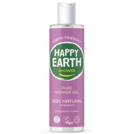 Happy Earth Showergel Lavender Ylang 300 ml