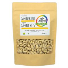 Original Superfoods Biologische Cashewnoten 1000 Gram