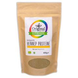 Original Superfoods Biologische Hennep Proteine 400 Gram