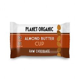 Planet Organic Biologische Almond Butter Cup 25 Gram