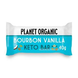 Planet Organic Biologische Bourbon Vanilla Keto Bar 40 Gram