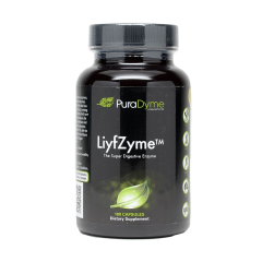 PuraDyme LiyfZyme 180 Capsules