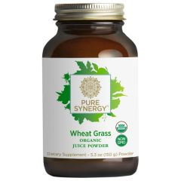 Pure Synergy Wheat Grass Juice Powder 150 Gram