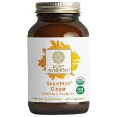 Pure Synergy SuperPure Ginger (Gember) Exract 60 V-Caps