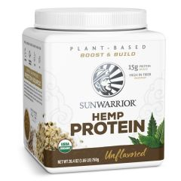 Sunwarrior Organic Hemp Protein Unflavored 750 Grams