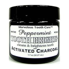Tooth Soap Tooth Brights Peppermint Activated Charcoal 50 ml
