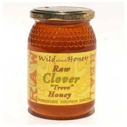 Wild About Honey Rauwe Klaver Honing 500 Gram